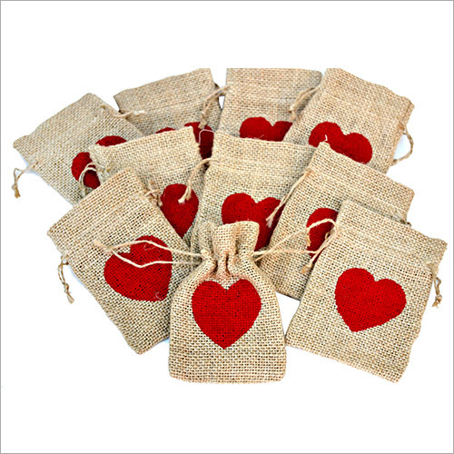 Jute Ethnic Drawstring Pouches