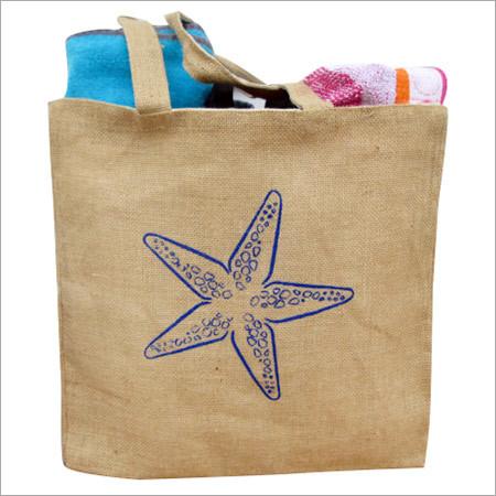Hessian Shopping Bag