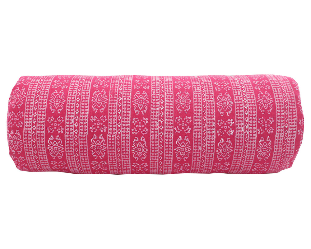 Full Body Block Printed Bolster