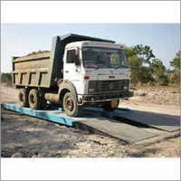 mobile type weighbridge