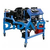 GM Ecotec 2.2l Engine Bench With HVAC