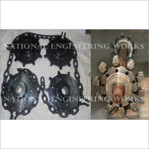 Chain Wheel Replaceable Sprocket