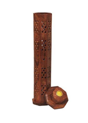 Desi Karigar Wooden Incense Holder, Incense Stick, Agarbatti Stand, Pooja accessories