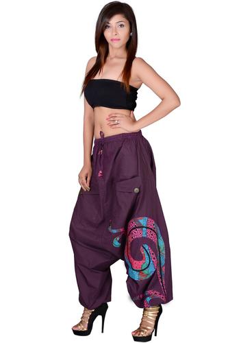 Vetement Femme Ethnique Sarouel Cotton Trouser