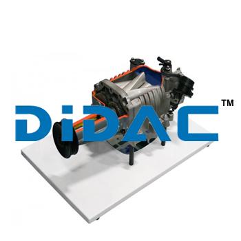 Cutaway Supercharger