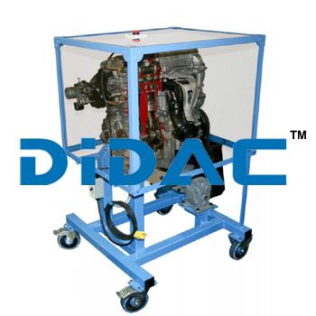 Custom Cutaway Engine And Transmission