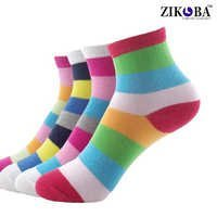 Mercerized cotton socks