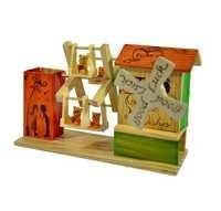 Desi Karigar Musical Toy / Table Décor / Wooden Showpiece /Children Toy. ( Showpiece)