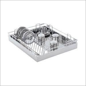 SS Slim Cutlery Basket