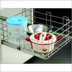 Stainless Steel Kitchen Baskets
