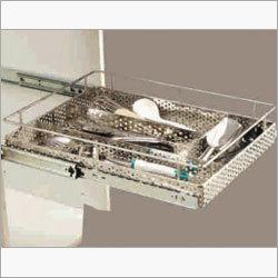 SS Cutlery Basket