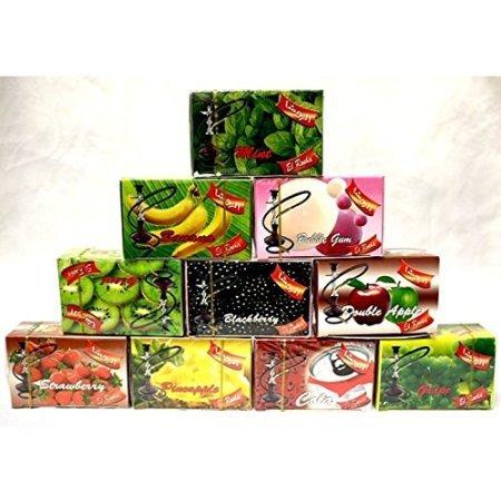 Desi Karigar 2 Shisha Pan Masala Flavour for Hookah / Hukka / Hookha, 2 FREE Charcoal
