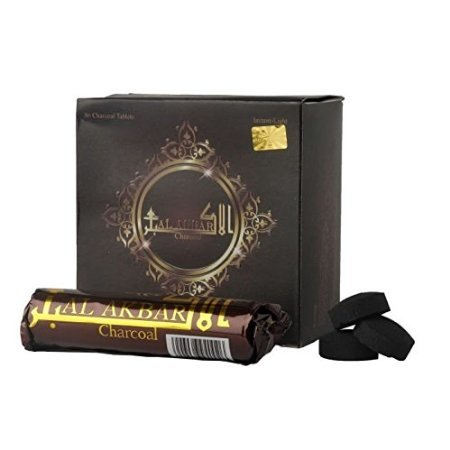 Desi Karigar Al Akbar Hookah Instant Light Coal Pack Of 80 Tablets