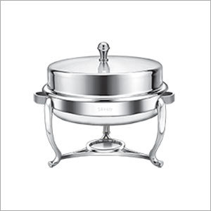 Round Hydraulic Top Chafing Dish