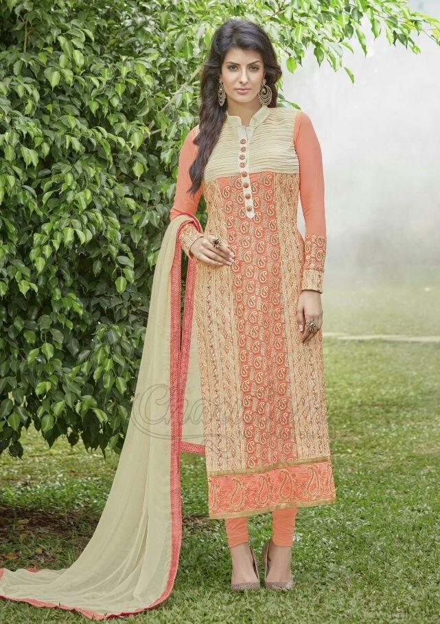 Lukhnawi Green Lovely Salwar Suit