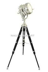 Beautiful Heavy Duty Tripod floor Lamp Vintage Ship Lamp Replica