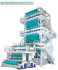 High Speed Multilayer Blown Film Plant
