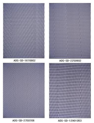 Polyester monofilament fabrics
