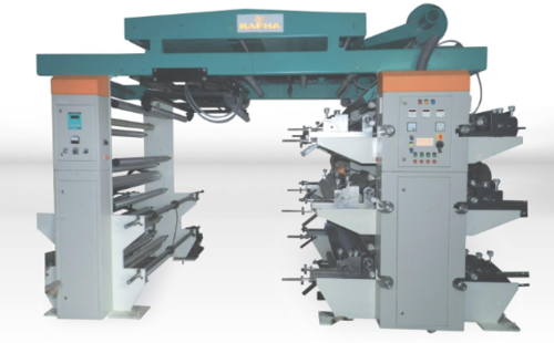 6 Colour Flexo Graphic Printing Machine