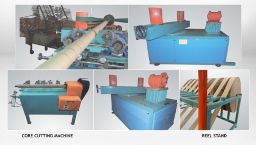 Automatic Spiral Paper Core Making Machine