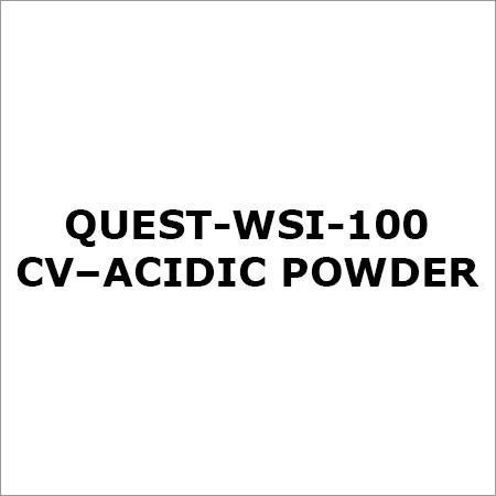 Quest-Wsi-100 Cv-Acidic Powder