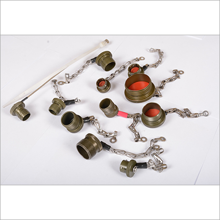 Cap & Chain Accessories for Cable End Connectors