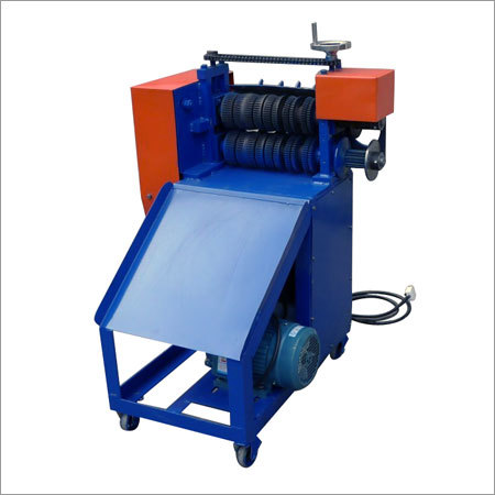 Rubber Covered Wire Stripper Machine