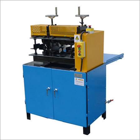 Armoured wire stripper machine