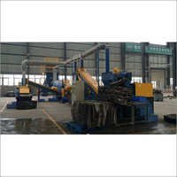 Waste Radiator Crushing Recycling Line