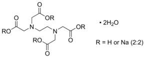 Ethylenediaminetetraacetic acid disodium salt dihydrate