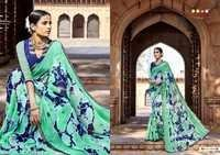 Partywear Digital Printed Saree