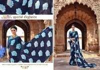 Partywear Printed Saree