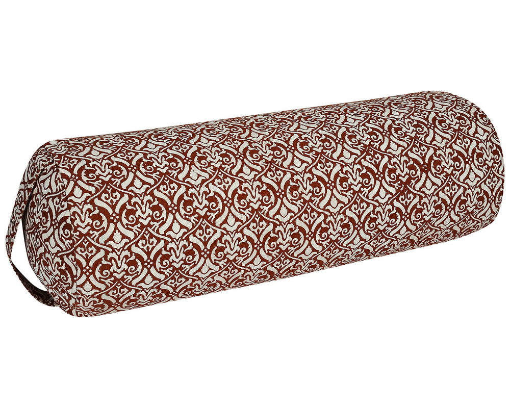 Printed cotton Cylindrical Bolster