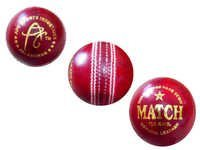 APG Leather Cricket Ball MATCH