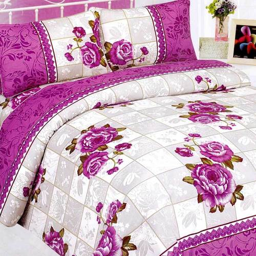 Poly cotton bed Sheet