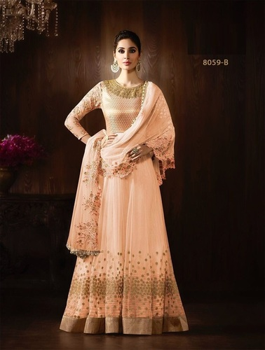 Shop Embroidered Anarkali Suit Online