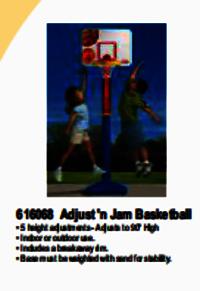 Rubber Basketballs