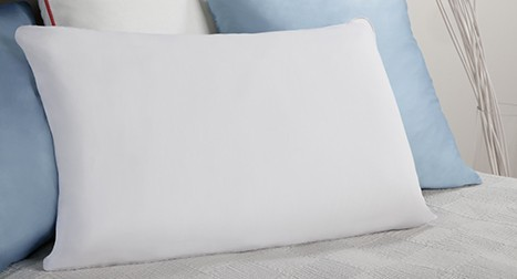 white 180tc cotton pillow cover