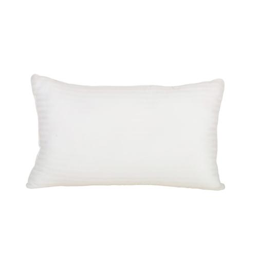 white 190tc cotton pillow cover