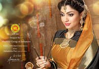 Golden Cotton Saree