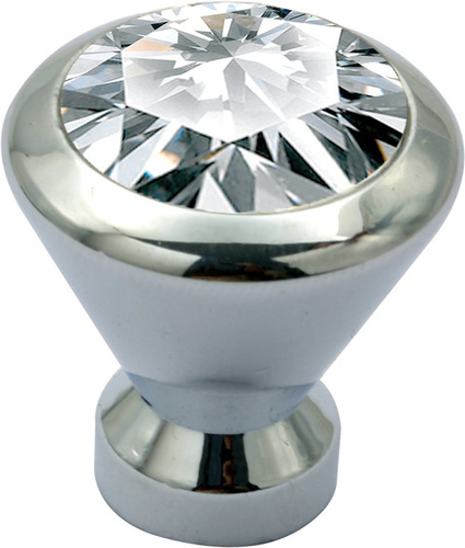 Aluminium Crystal Knobs