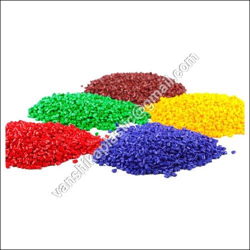 Colored HDPE Plastic Granules