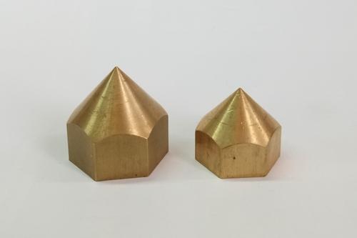 Brass Round Cap Hex Nut