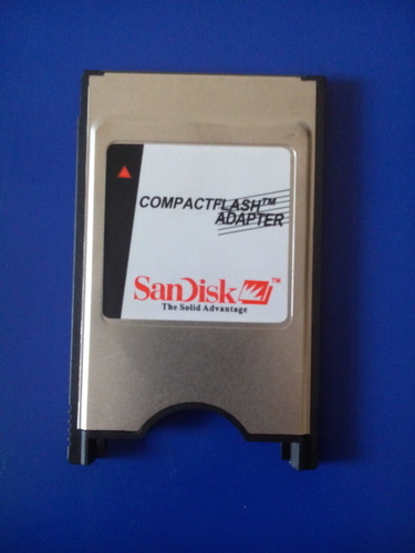 Pcmcia Card and Reader