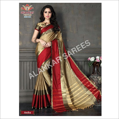 100% Cotton Sarees