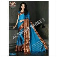 Mercerized Cotton Sarees