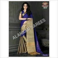 Embroidered Cotton Sarees