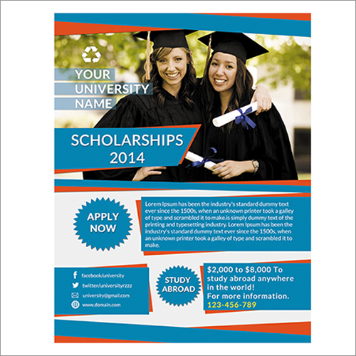 Scholarship Flyer By Mehrodesigns
