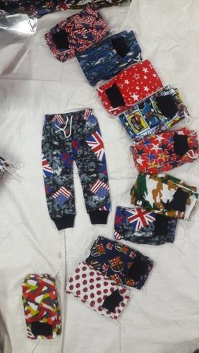 Kids Printed Pants