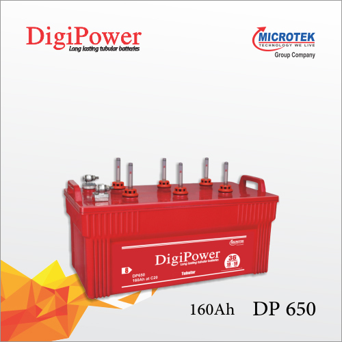 Inverter Battery DP 650 (160 AH)